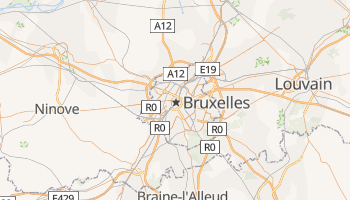 Carte en ligne de Bruxelles