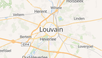 Carte en ligne de Louvain