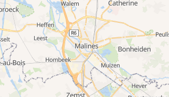 Carte en ligne de Malines