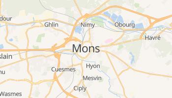 Carte en ligne de Mons