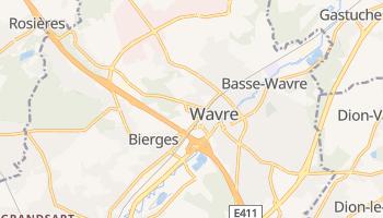 Carte en ligne de Wavre