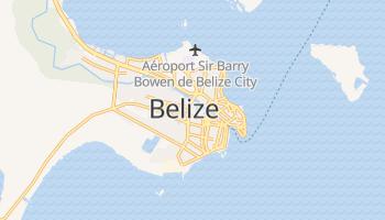 Carte en ligne de Belize