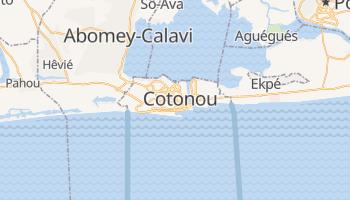 Carte en ligne de Cotonou