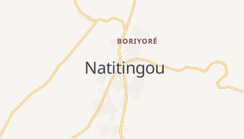 Carte en ligne de Natitingou