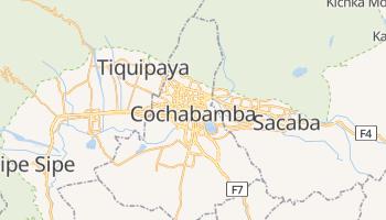 Carte en ligne de Cochabamba
