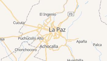 Carte en ligne de La Paz