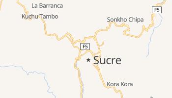 Carte en ligne de Sucre