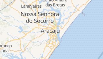 Carte en ligne de Aracaju