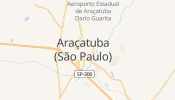 Carte en ligne de Araçatuba