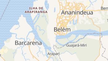 Carte en ligne de Belém