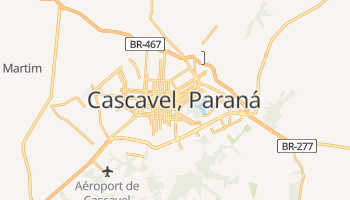 Carte en ligne de Cascavel