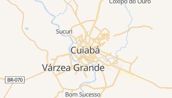 Carte en ligne de Cuiabá