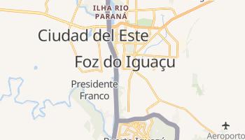 Carte en ligne de Foz do Iguaçu