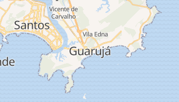 Carte en ligne de Guarujá