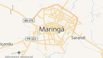 Carte en ligne de Maringá