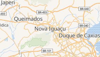 Carte en ligne de Nova Iguaçu