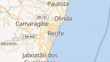 Carte en ligne de Recife