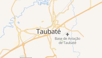 Carte en ligne de Taubaté