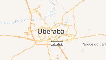 Carte en ligne de Uberaba