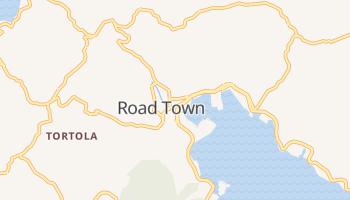 Carte en ligne de Road Town