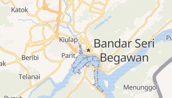 Carte en ligne de Bandar Seri Begawan