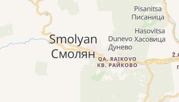 Carte en ligne de Smolyan
