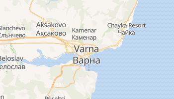 Carte en ligne de Varna
