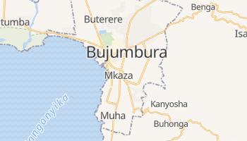 Carte en ligne de Bujumbura