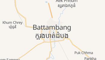 Carte en ligne de Battambang