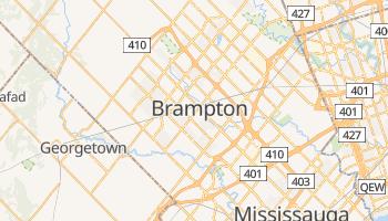 Carte en ligne de Brampton