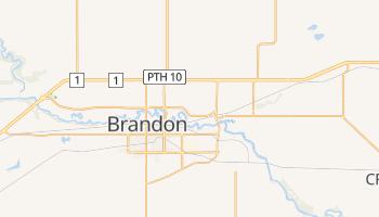 Carte en ligne de Brandon