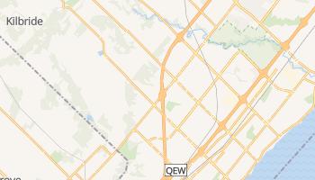 Carte en ligne de Burlington