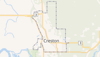 Carte en ligne de Creston