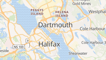 Carte en ligne de Dartmouth