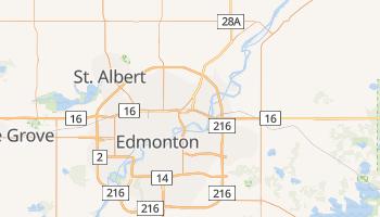 Carte en ligne de Edmonton
