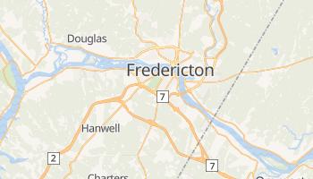 Carte en ligne de Fredericton