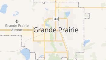 Carte en ligne de Grande Prairie