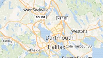 Carte en ligne de Halifax