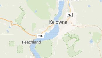 Carte en ligne de Kelowna