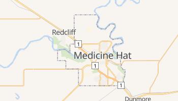 Carte en ligne de Medicine Hat