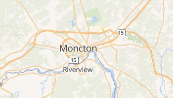 Carte en ligne de Moncton
