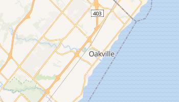 Carte en ligne de Oakville