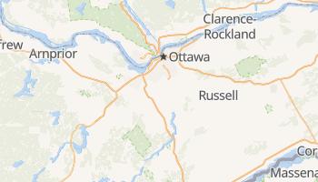 Carte en ligne de Ottawa
