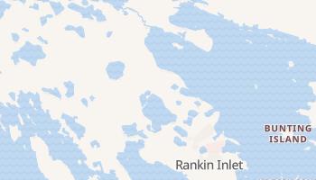 Carte en ligne de Rankin Inlet