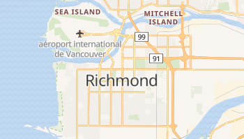 Carte en ligne de Richmond