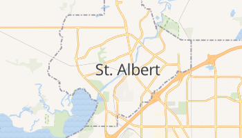 Carte en ligne de Saint-Albert