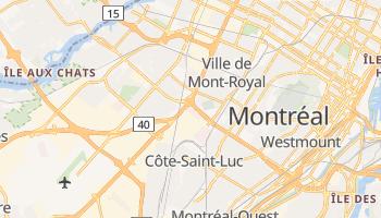 Carte en ligne de Saint-Laurent