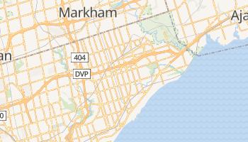 Carte en ligne de Scarborough