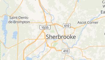 Carte en ligne de Sherbrooke