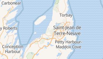 Carte en ligne de Saint-Jean de Terre-Neuve